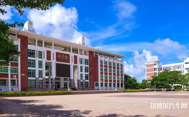 海南经贸职业技术汽车学院2019年有哪些专业